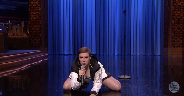 lena dunham lip sync battle