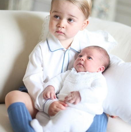 prince george and princess charlotte duchess of cambridge official photos