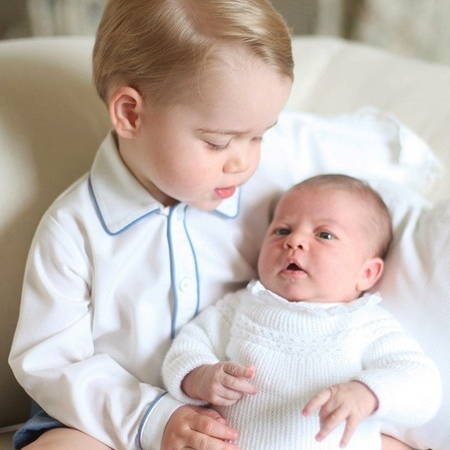 prince george and princess charlotte official photos kensington palace
