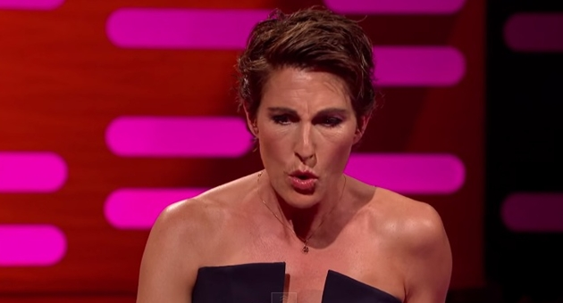 tamsin greig impersonation of scared pig