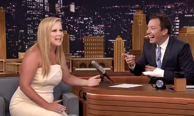 amy schumer prank katie couric jimmy fallon