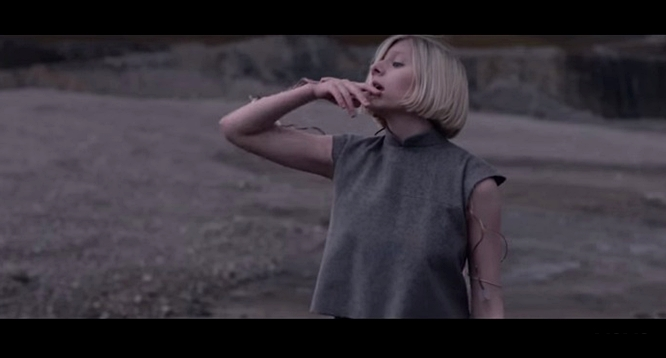 aurora running with the wolves video