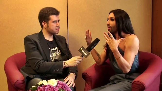 conchita wurst in poland interview