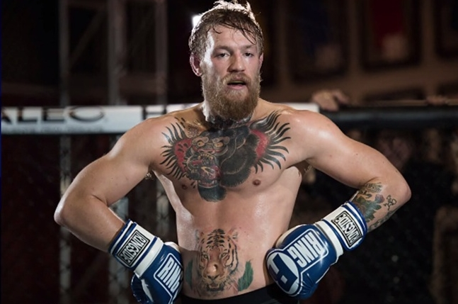 Conor McGregor Talks About His Gorilla Head Tattoo on Conan (Video)