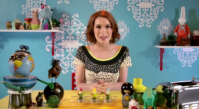 felicia day geek and sundry at comic-con 2015