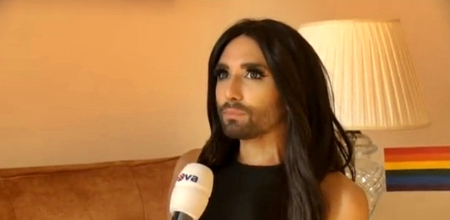 conchita wurst prague