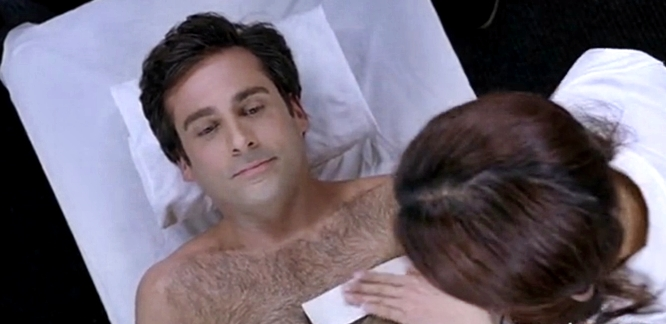 steve carell 40 year old virgin waxing