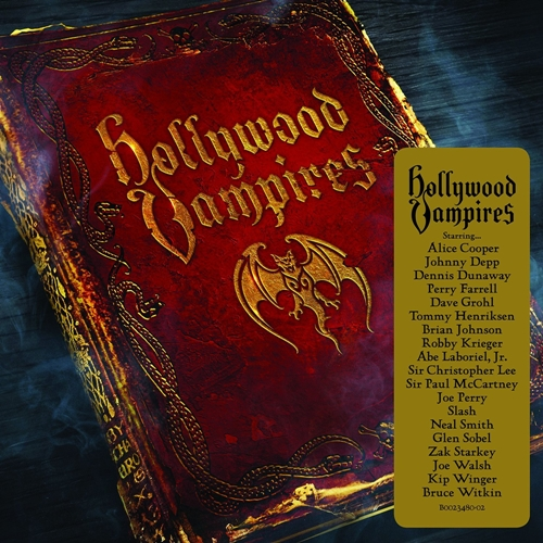 Hollywood Vampires debut album