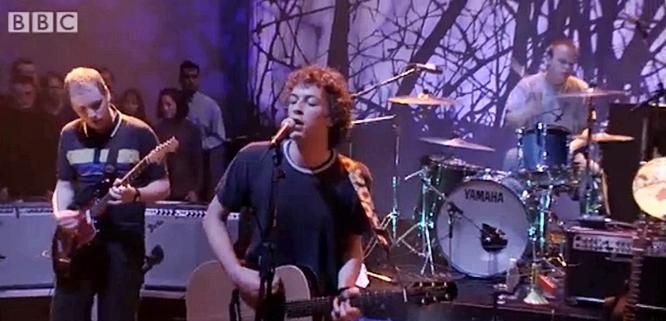 coldplay yellow live jools holland 2000