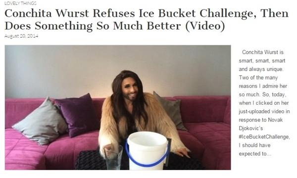 conchita wurst ice bucket