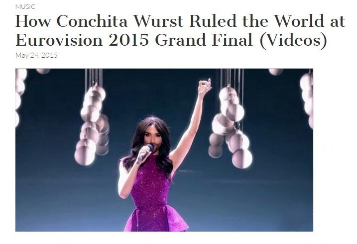 conchita wurst rules the world