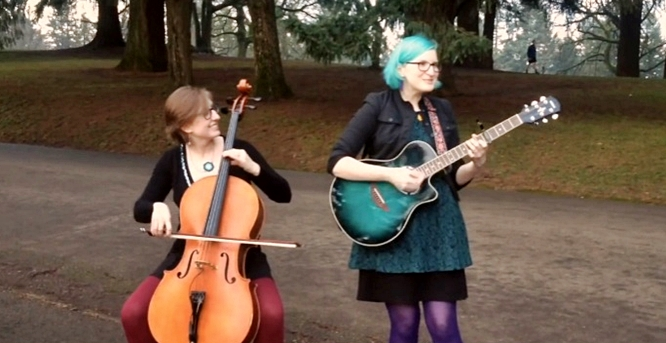 the doubleclicks the rainbow connection