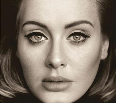 Adele 25 album cover