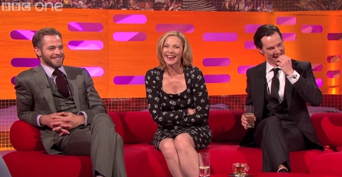 chris pine nuts benedict cumberbitches graham norton