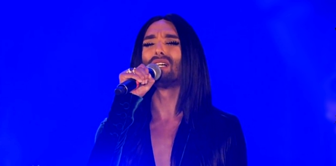 conchita wurst put that fire out live