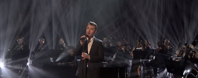sam smith writing's on the wall graham norton