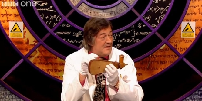 Stephen Fry Quits QI