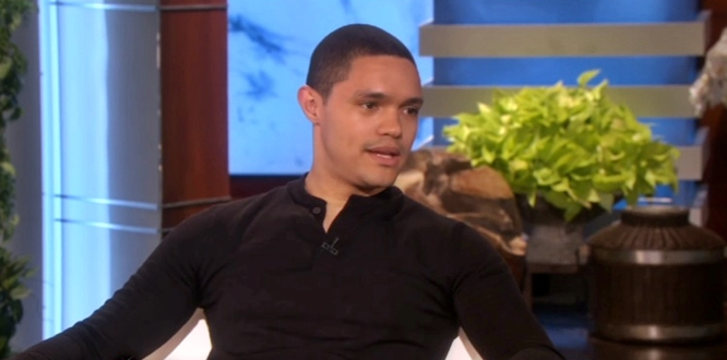 Trevor Noah Says Living Under Apartheid More Difficult For Mother Than For Him (Video)