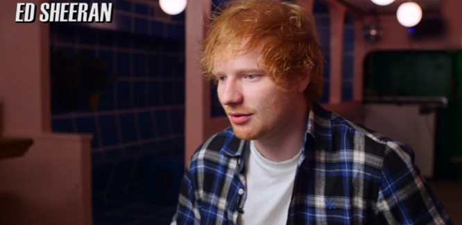 Who Are Ed Sheeran's Top 5 British Pop Singers? (Video)