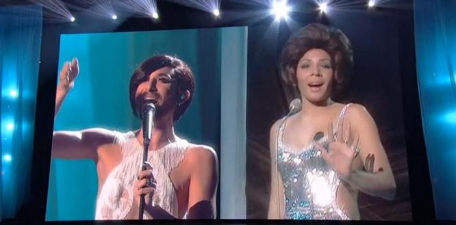 conchita and shirley bassey diamonds forever