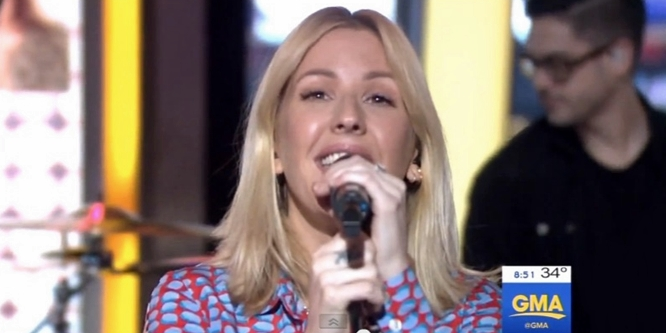 ellie goulding on my mind good morning america
