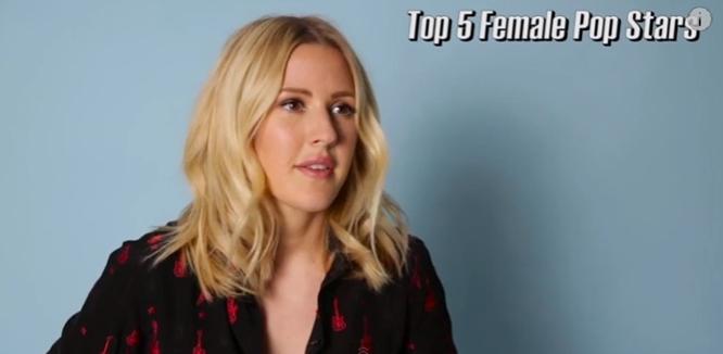 ellie goulding top five female pop singers