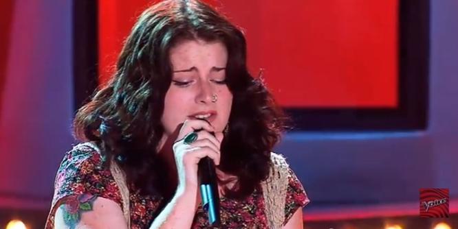 Karise Eden's 'It's A Man's World' The Voice Audition Still Astounding -- Memories Monday