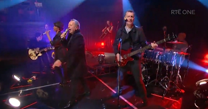 simple minds don't you forget rte late late show