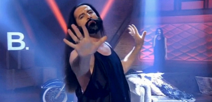 bulent caylan and conchita wurst surprise