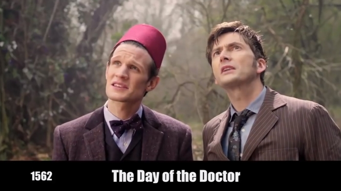 doctor who in historical chronological order