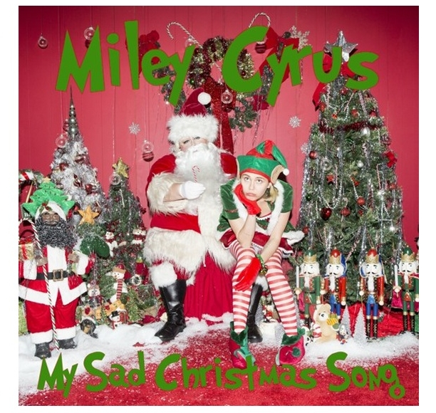miley cyrus my sad christmas song flaming lips