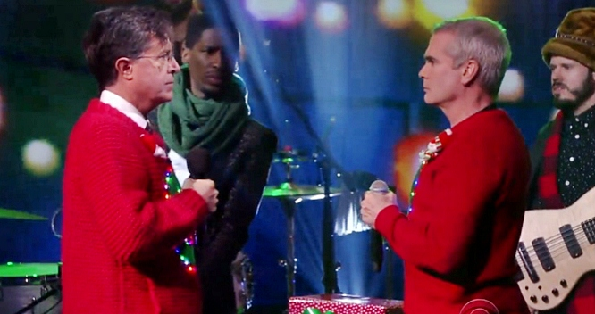 stephen colbert henry rollins carol of the bells
