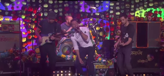 Coldplay Performs 'Adventure of a Lifetime' Live on The Ellen Show (Video)