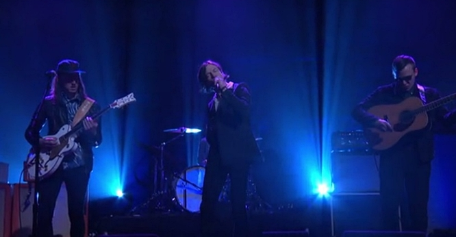 cage the elephant trouble on conan