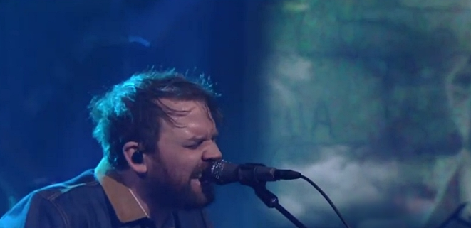 frightened rabbit on stephen colbert