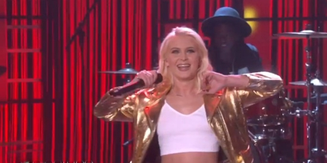 zara larsson never forget you mnek on ellen show