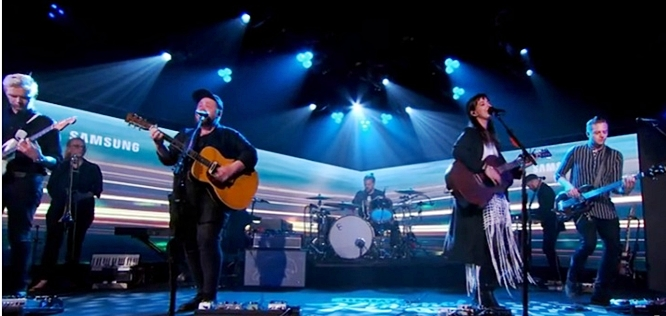 of monsters and men wolves without teeth jimmy kimmel