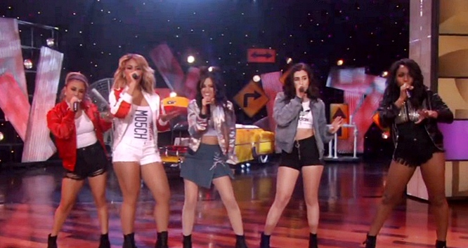 fifth harmony work from home on ellen