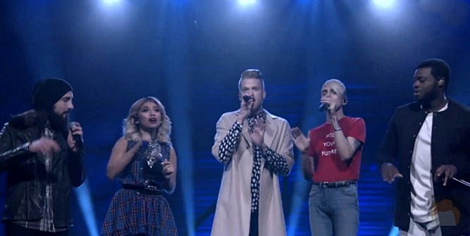 Watch Pentatonix Perform Cool Cover of 'If I Ever Fall in Love' on Conan (Video)