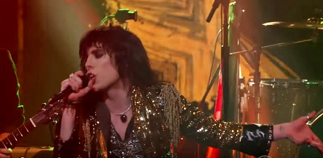 the struts kiss this stephen colbert