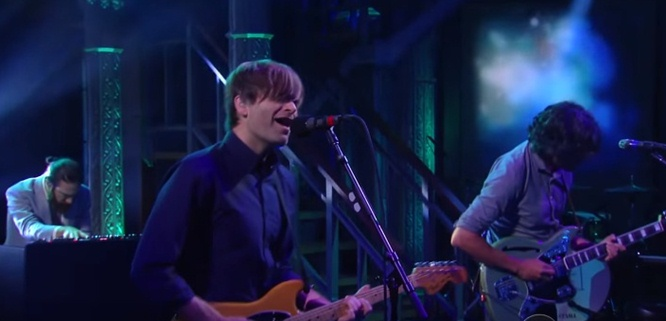 death cab for cutie no room in frame stephen colbert