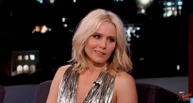 Kristen Bell Doesn't Want Her Kids To See Her 'Playing A Giant Penis' (Video)