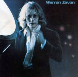 Warren Zevon self titled album artwork