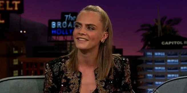 cara delevingne james corden taylor swift ghost prank