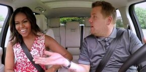 michelle obama carpool