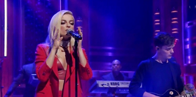 bebe rexha in the name of love martin garrix jimmy fallon