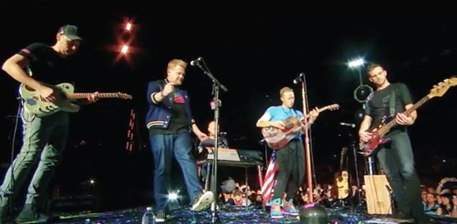 coldplay chris martin nothing compares 2 u