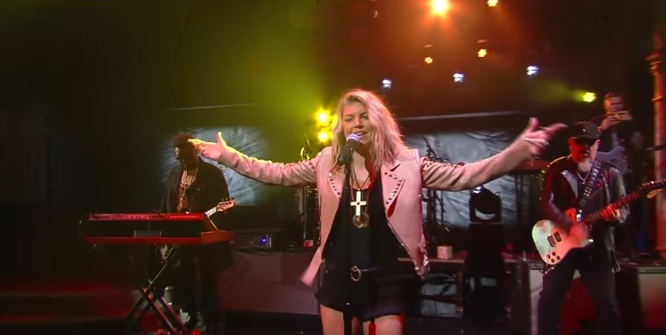 Watch Fergie Perform 'Life Goes On' on 'Stephen Colbert' -- Brilliant