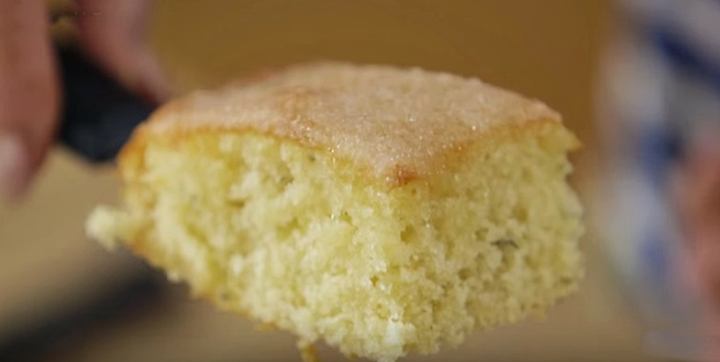 How To Make Mary Berry's Lemon Verbena Drizzle Cake -- It Is Delicious (Video)