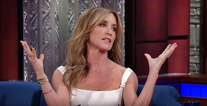 Felicity Huffman Played Hard to Get with William H. Macy, So He Asked Her to Marry Him 3 Times (Video)